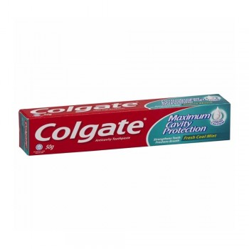 Colgate Maximum Cavity Protection Fresh Cool Mint Toothpaste 50g