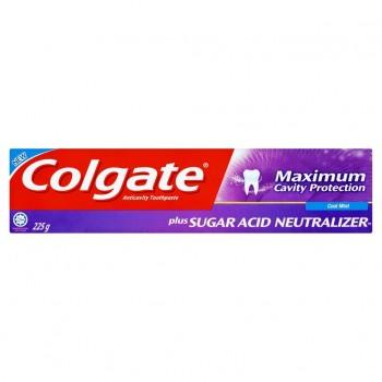 Colgate Maximum Cavity Protection Plus Sugar Acid Neutralizer Cool Mint 225g