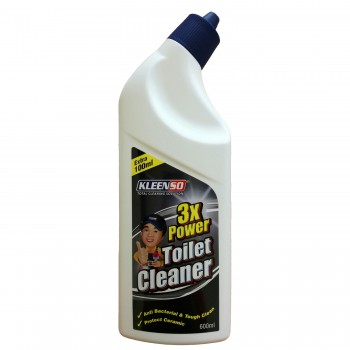 Kleenso 3x Power Toilet Cleaner - 600ml