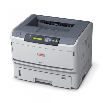 OKI B840dn Mono Printer B800 Series Duplex, Network LED Printer - 44676013