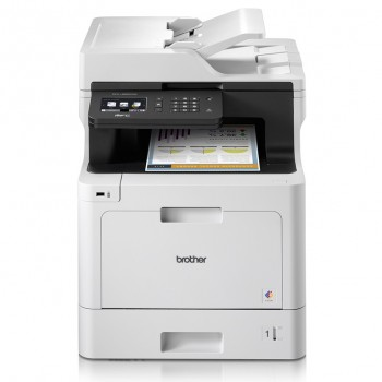 Brother MFC-L8690CDW Colour Laser Multi-Function Printer - Automatic 2-sided Features and Wireless Connectivity