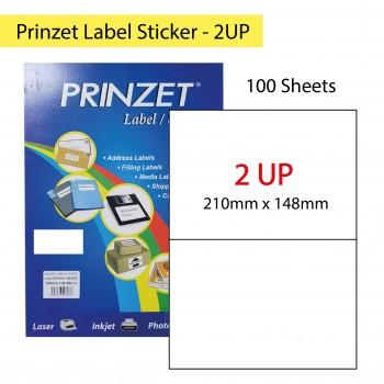 Prinzet Label Sticker 100sheets - 2UP