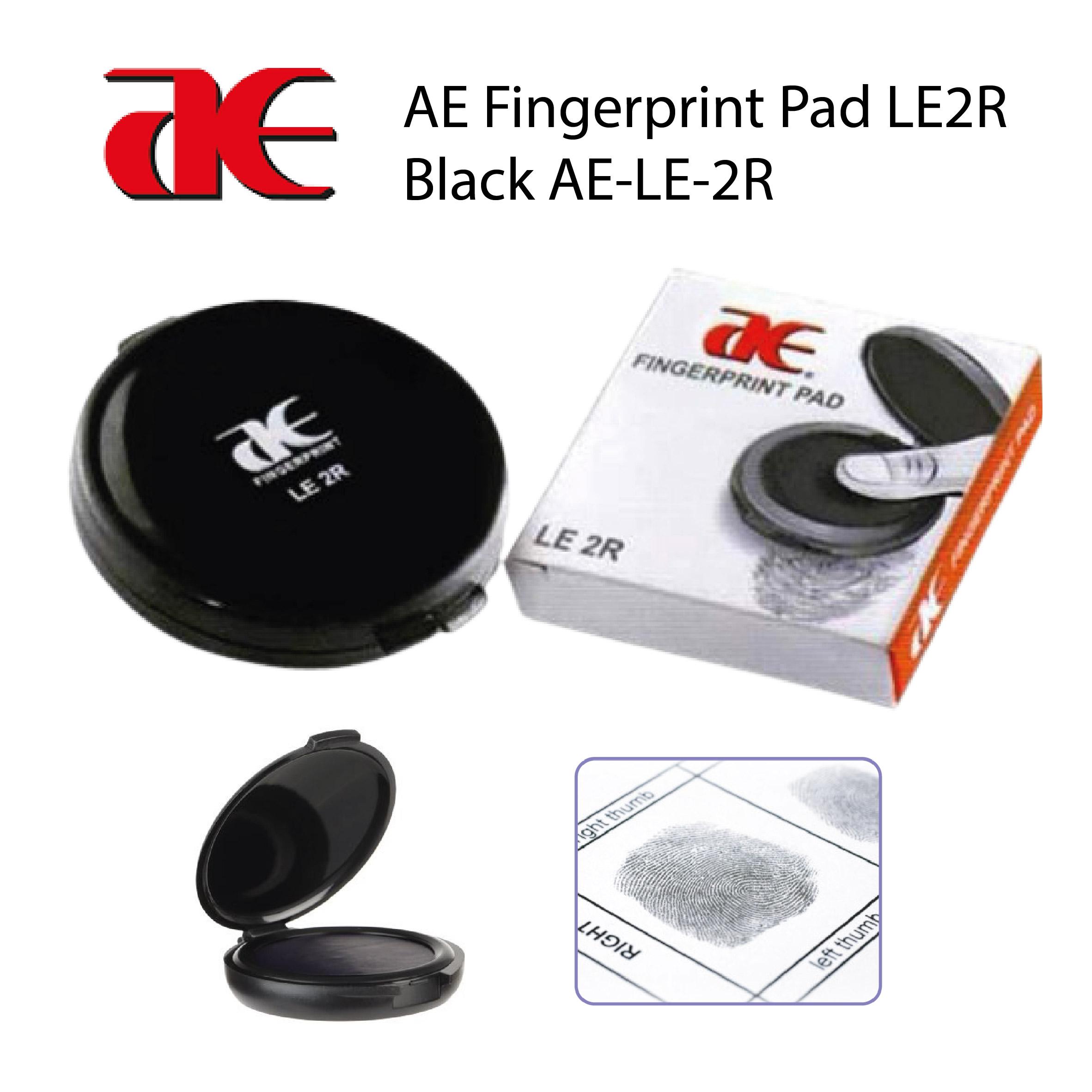 AE Fingerprint Pad LE2R Black AE-LE-2R