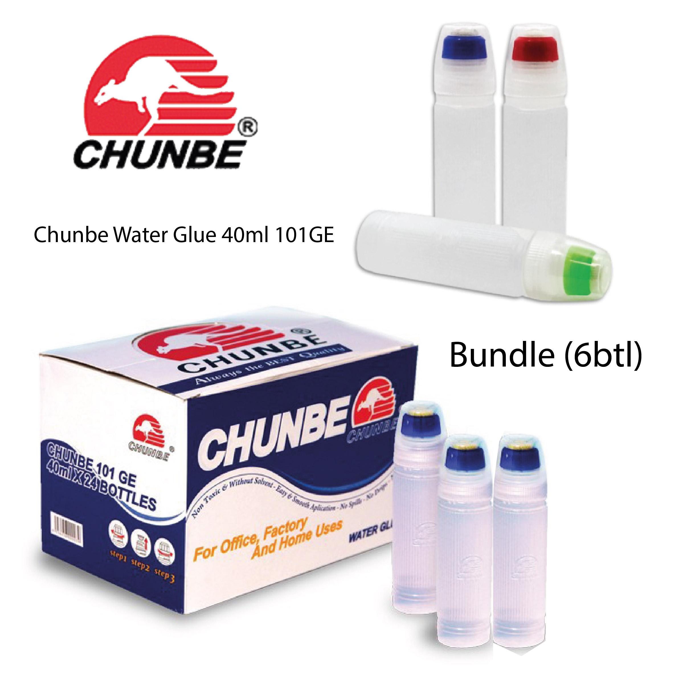 Chunbe Water Glue 40ml 101GE Bundle (6 bottle)