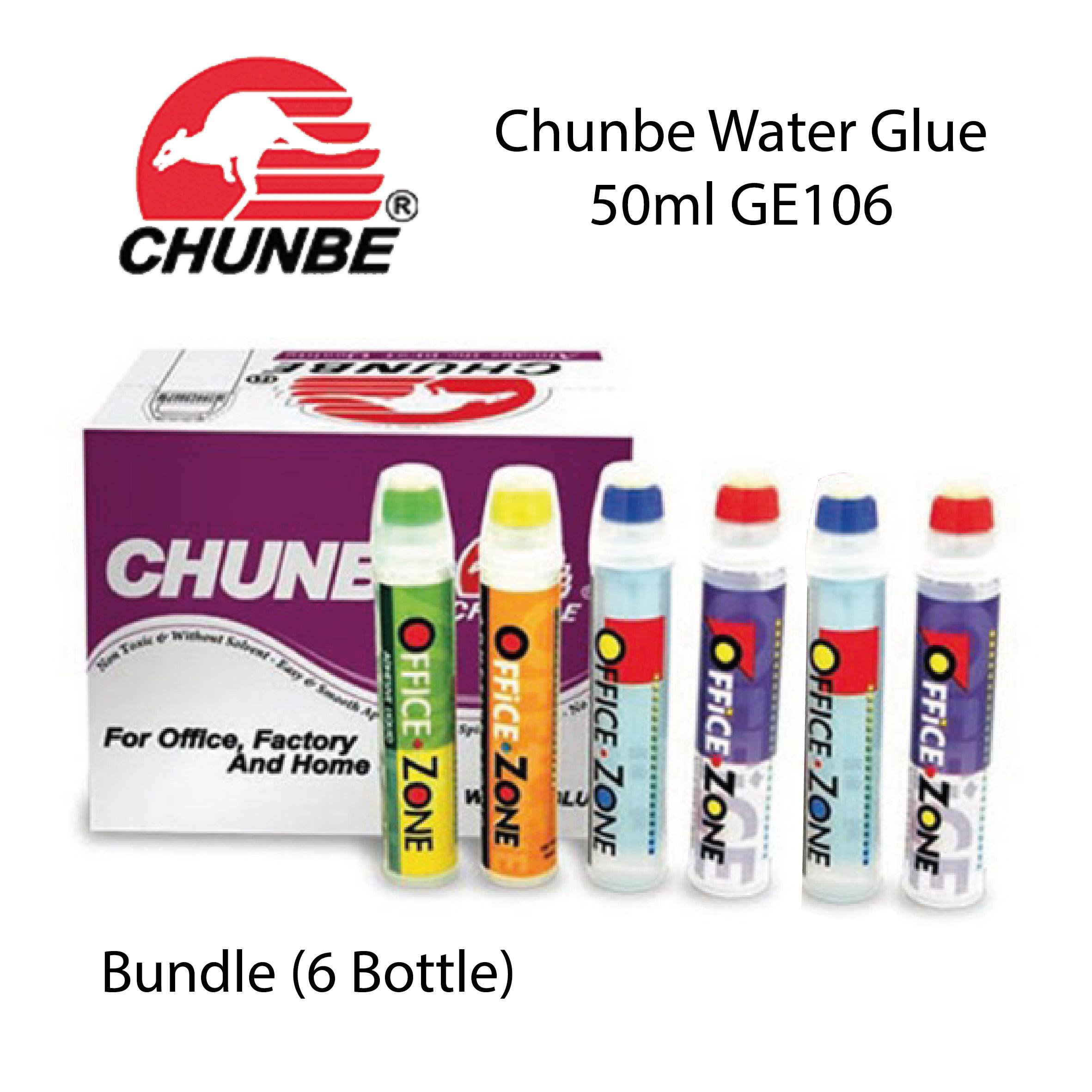 Chunbe Water Glue 50ml GE106 Bundle (6 Bottle)
