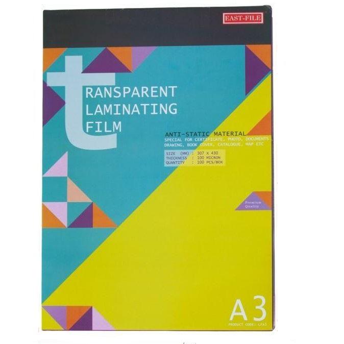 A3 Laminating Film Photo Card File Laminator Film (100pcs)