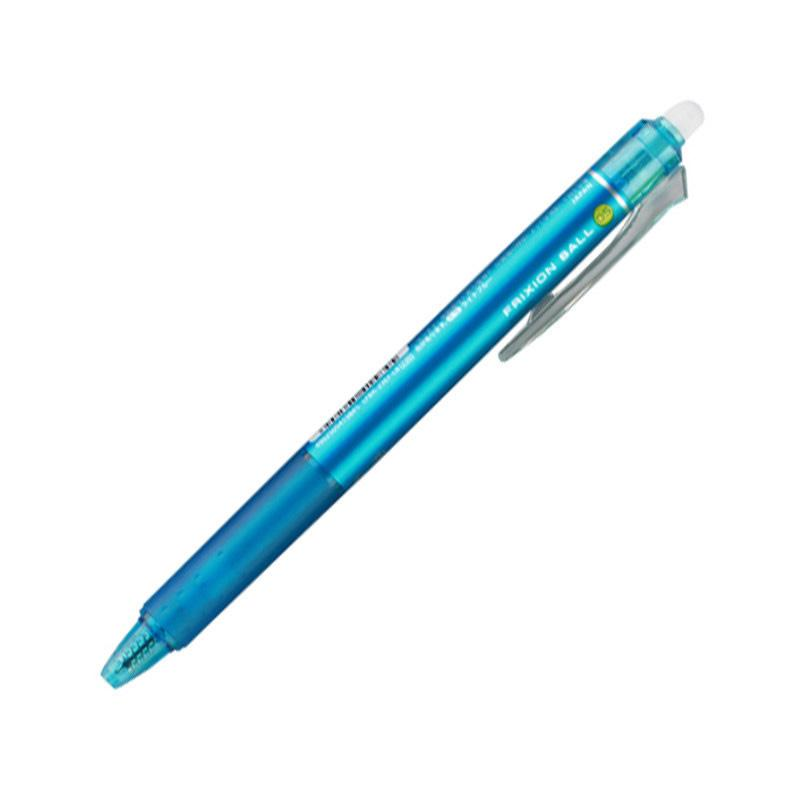 Pilot Frixion Ball Knock Clicker Erasable Pen 0.5mm Light Blue