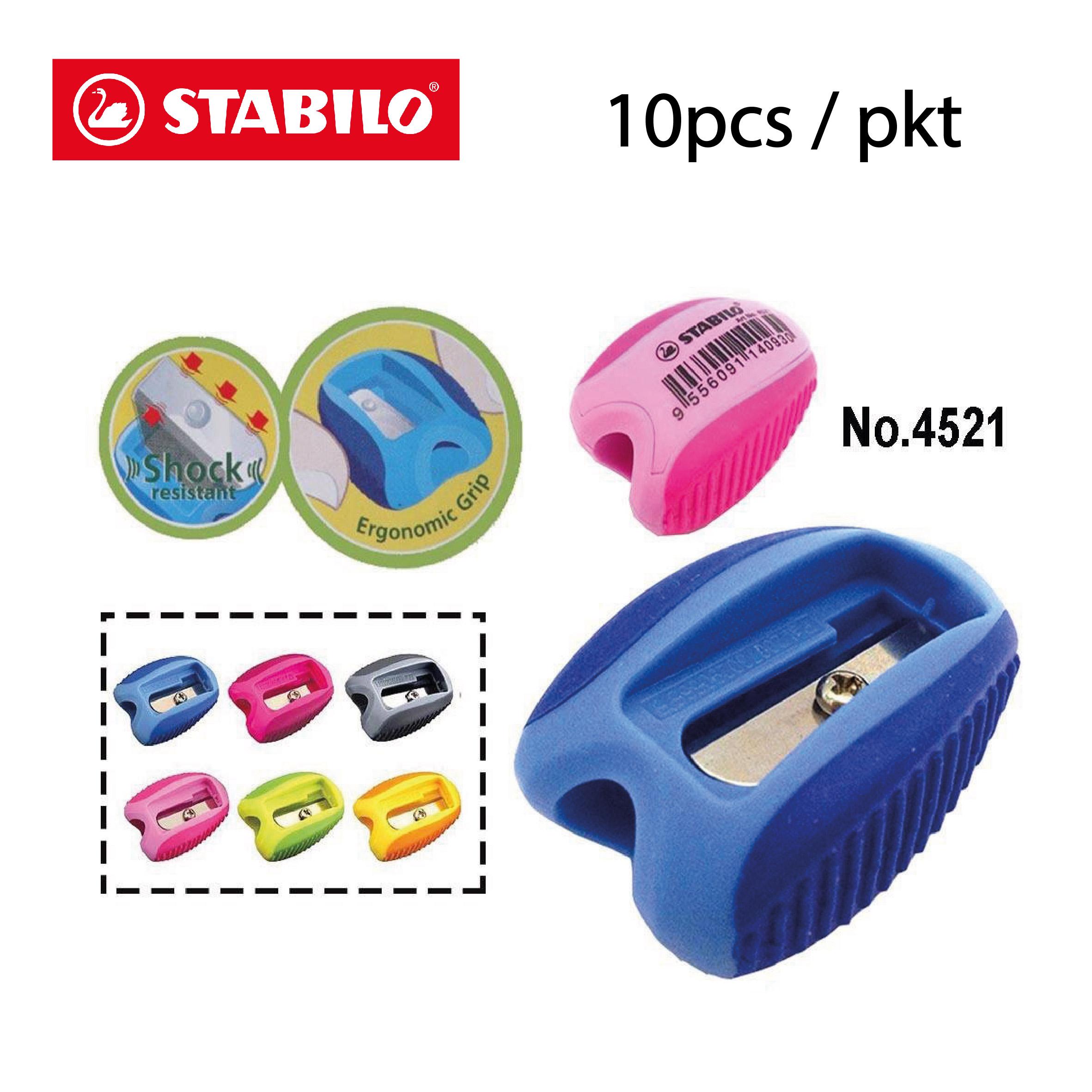 Stabilo X-Shock Sharpener 10pcs Bundle