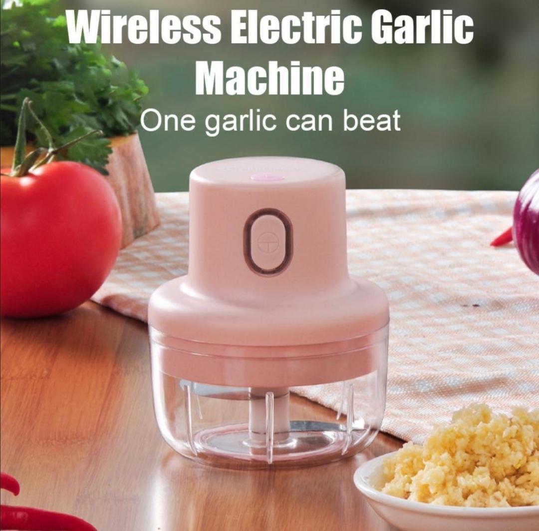 Intelligent Wireless Electric Mini Garlic Puree Food Chopper