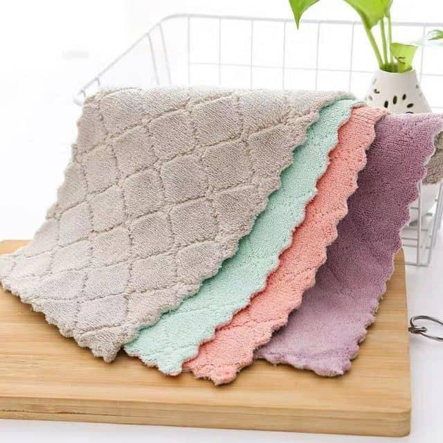 Magic Kitchen Towel Cloth 1pcs Random Color